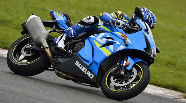 Check out the video feature of the Suzuki GSXR1000R