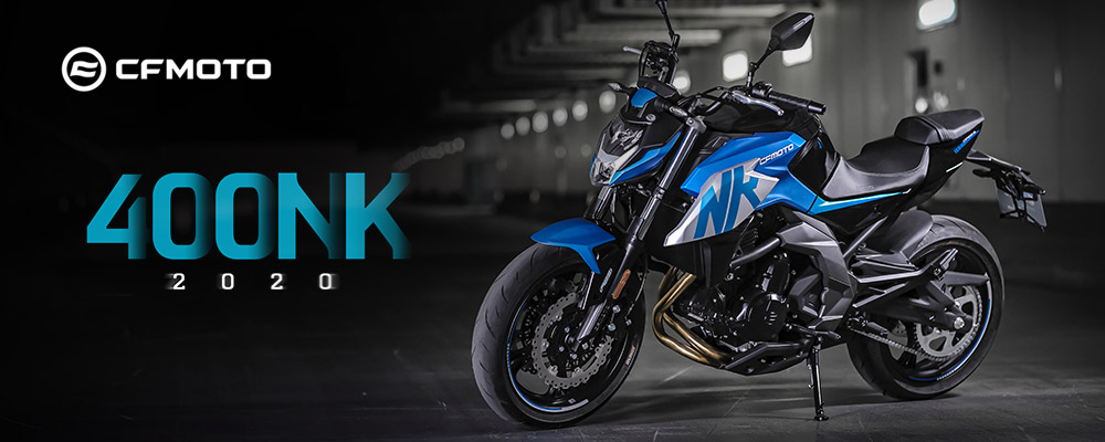 The CFMOTO 400 NK