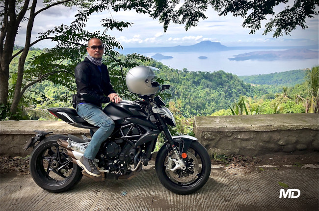 2019 MV Agusta Brutale Philippines Jinno Rufino Riding