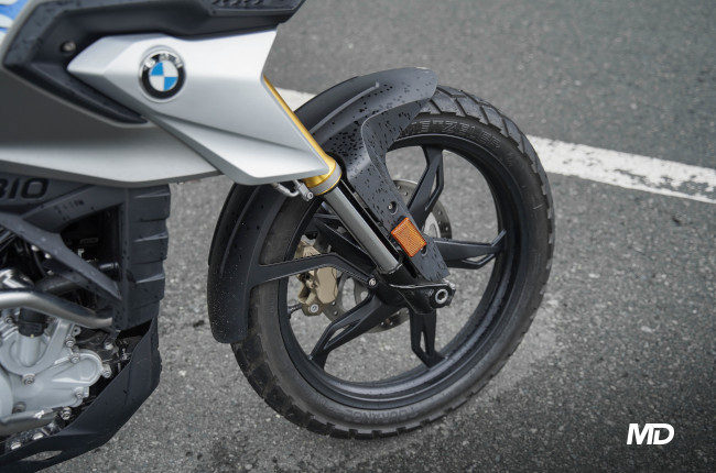 2020 BMW G 310 GS 19-inch front wheel