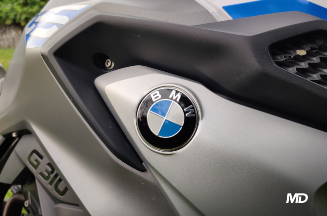2020 BMW G 310 GS BMW Badge
