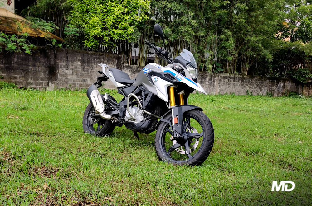 2020 BMW G 310 GS front Philippines quarter
