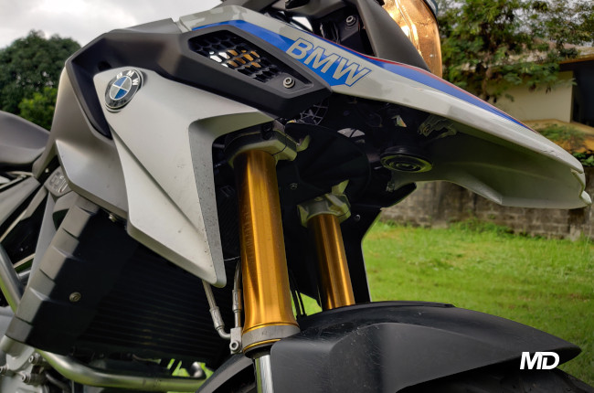 2020 BMW G 310 GS Gold Inverted Forks