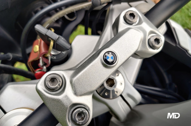 2020 BMW G 310 GS Handlebar Badge