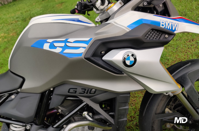 2020 BMW G 310 GS Philippines Badge and Decals