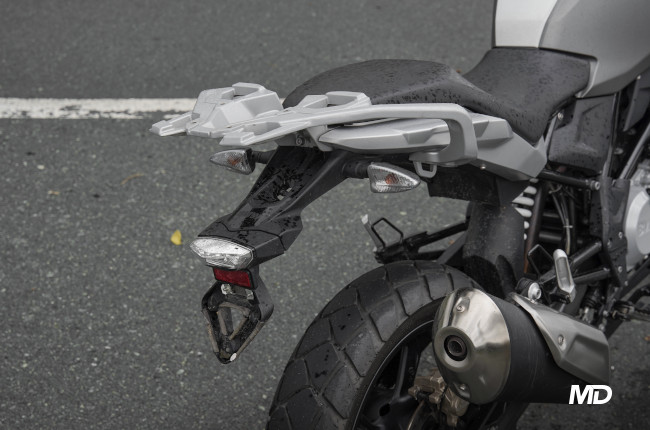 2020 BMW G 310 GS Rear Luggage Rack