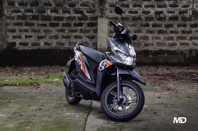 2020 Honda BeAT 110 Street Philippines Front Quarter