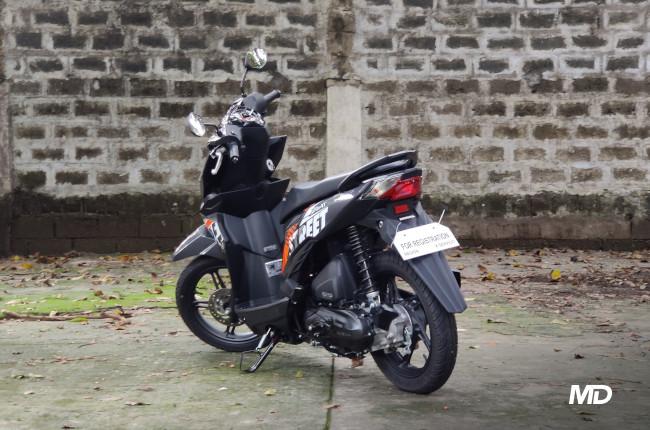 2020 Honda BeAT 110 Street Philippines Rear quarter