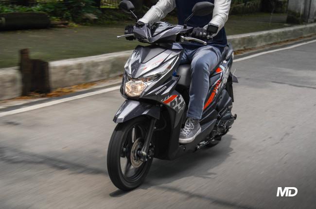 2020 Honda BeAT 110 Street Philippines Rolling