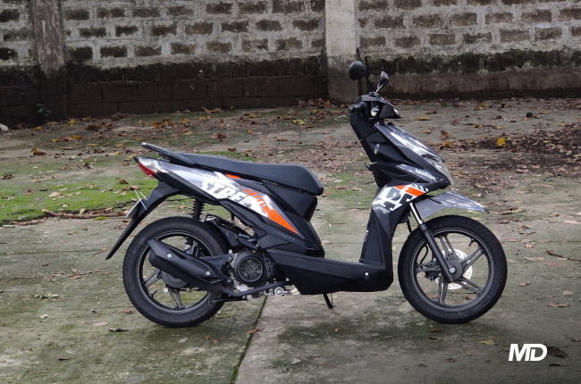 2020 Honda BeAT 110 Street Philippines Side