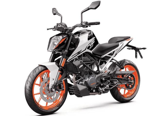 2020 KTM 200 Duke White