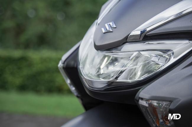 2020 Suzuki Burgman Street 125 LED headlight
