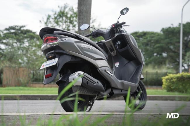 2020 Suzuki Burgman Street Philippines Rear