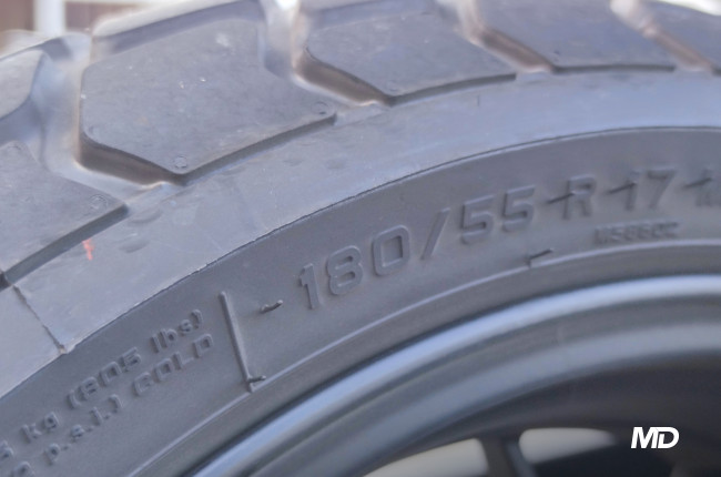 2021 700 CL-X Philippines 180mm rear tire