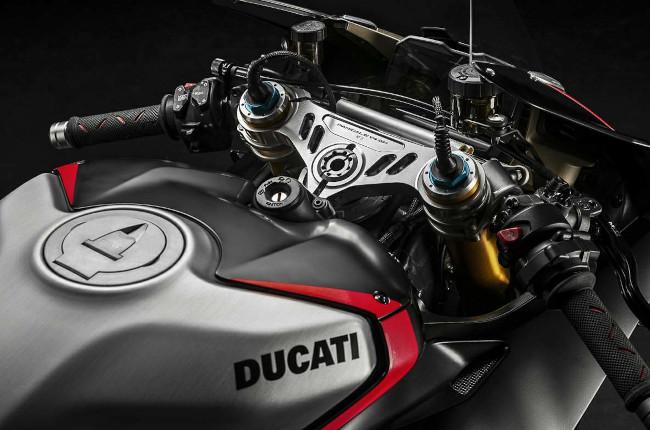 2021 Ducati Panigale V4 SP Cockpit