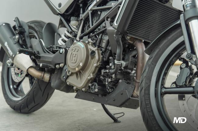 2021 Husqvarna Vitpilen 401 373cc engine