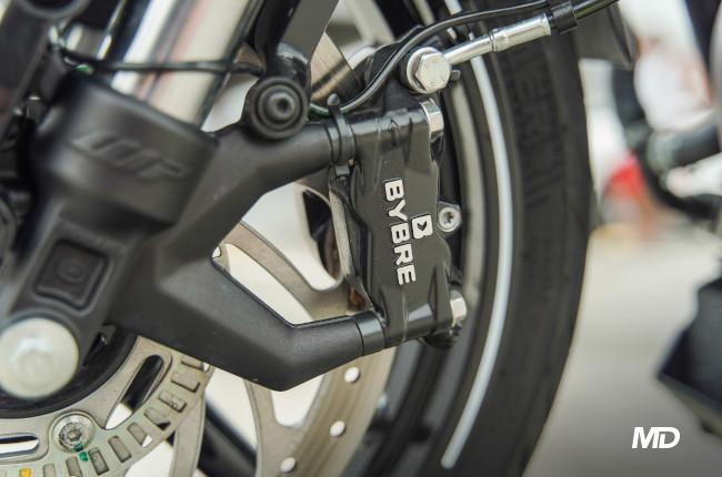 2021 Husqvarna Vitpilen 401 Bybre Disc Brakes front