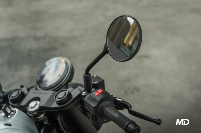 2021 Husqvarna Vitpilen 401 side mirrors