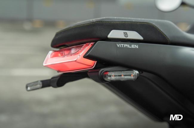 2021 Husqvarna Vitpilen 401 taillight