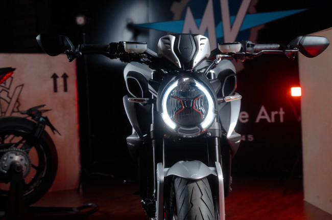 2021 MV Agusta Brutale And Dragster launch headlight