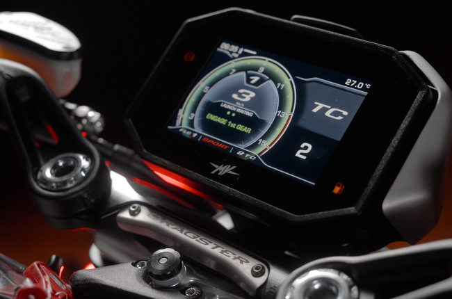2021 MV Agusta Brutale And Dragster TFT Display Philippines