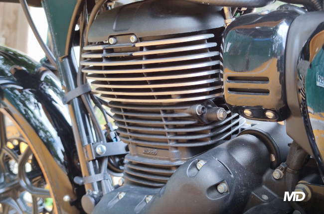 2021 Royal Enfield Meteor 350 Philippines 350cc engine