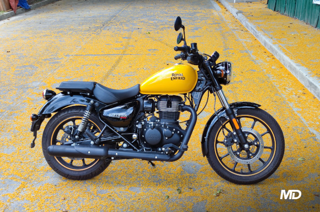 2021 Royal Enfield Meteor 350 Philippines side profile