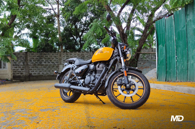 2021 Royal Enfield Meteor 350 Philippines Side quarter