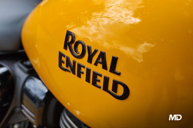2021 Royal Enfield Meteor 350 Philippines Tank