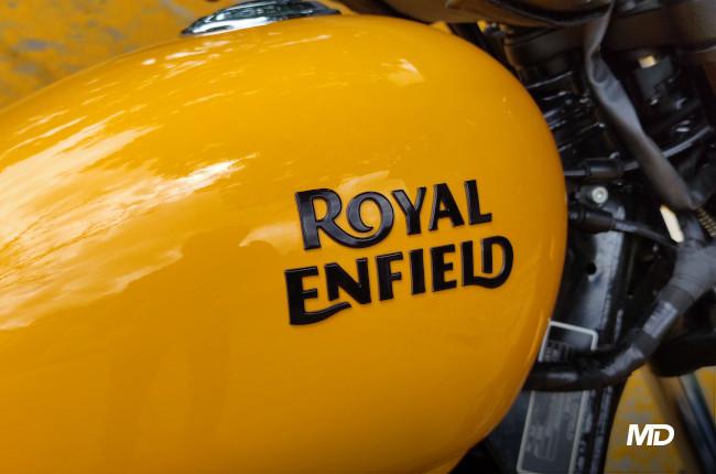 2021 Royal Enfield Meteor 350 Royal Enfield Badge