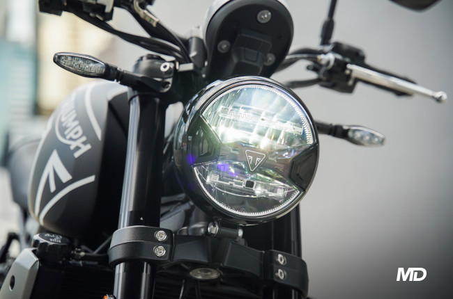 2021 Triumph Trident 660 Philippines headlight
