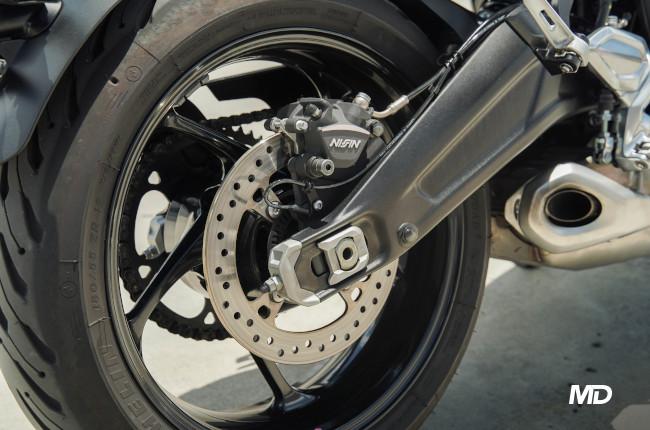 2021 Triumph Trident 660 Philippines rear brake