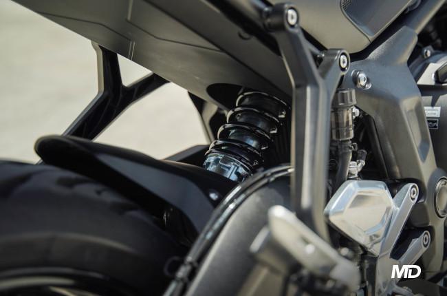 2021 Triumph Trident 660 Philippines rear suspension