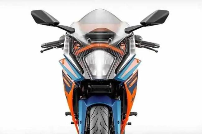2022 KTM RC 390 Front