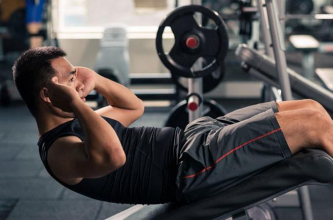 Abdominal strength exercise