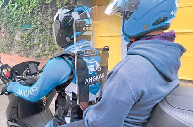 Angkas Protective Shield