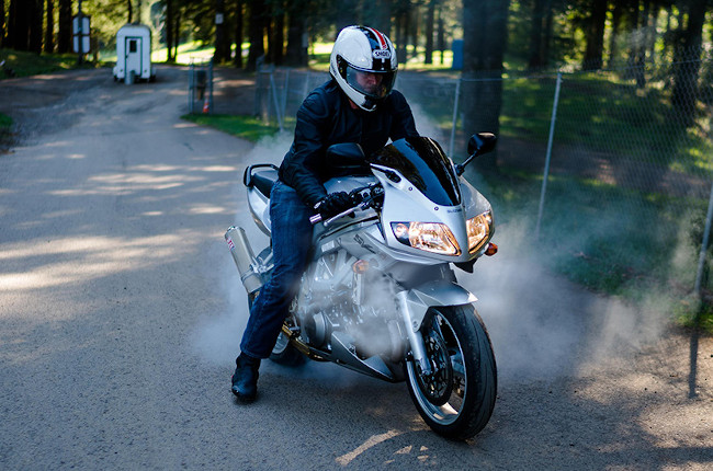 Beat the heat on your motorcycle