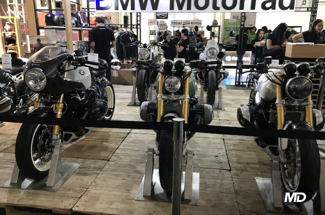 BMW Motorrad Display