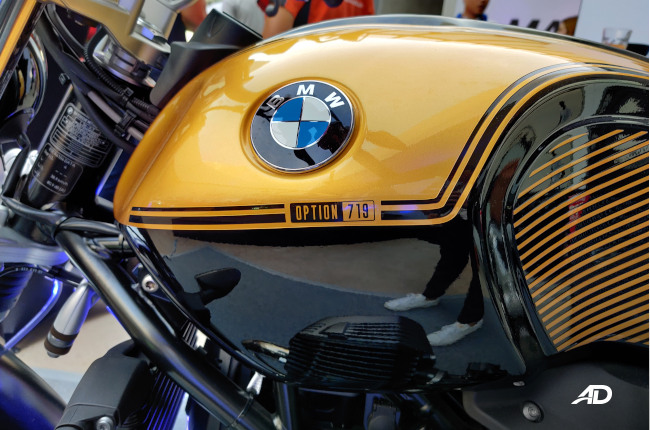 BMW Nine-T Tank Badge