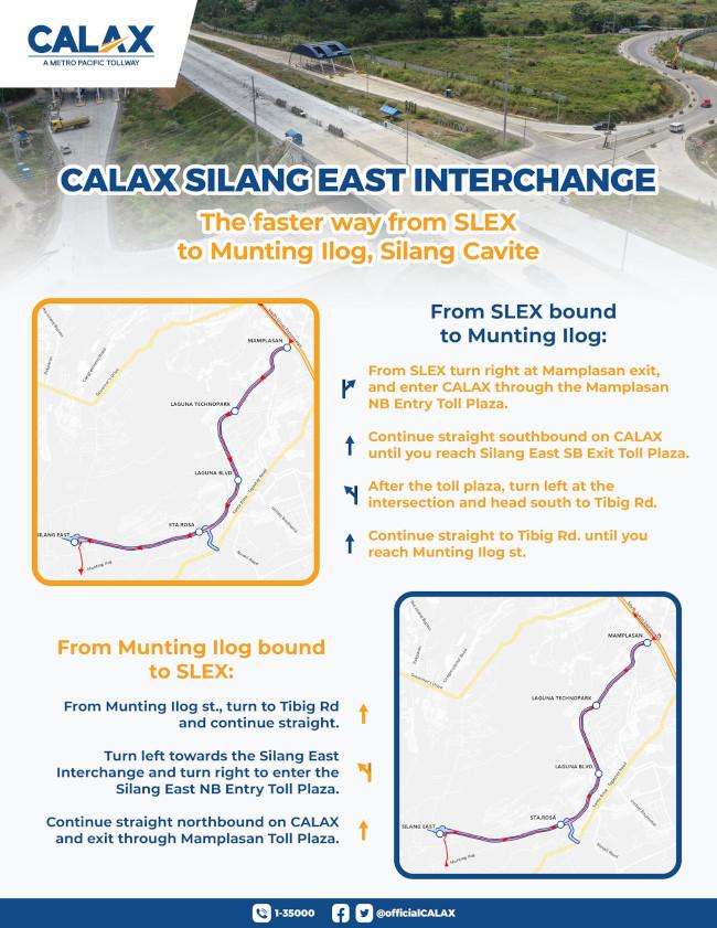 CALAX Silang Cavite Interchange