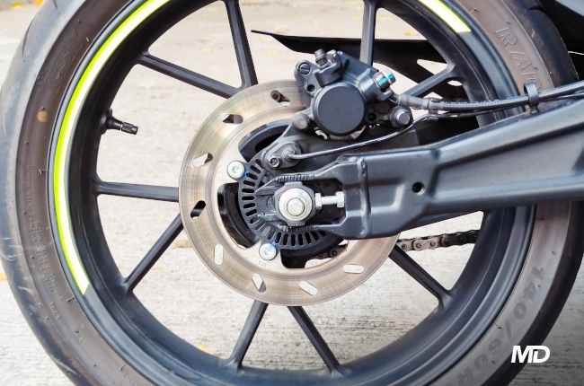 CFMoto 300SR Brakes