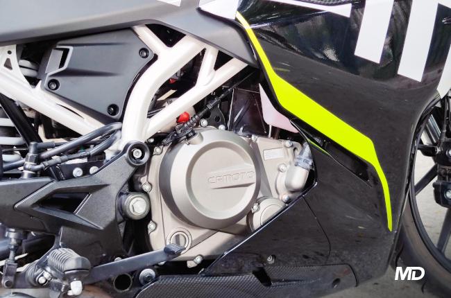 CFMoto 300SR Engine Case