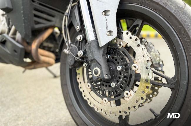 CFMoto 650 MT Brakes