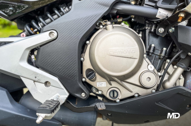 CFMoto 650 MT Engine