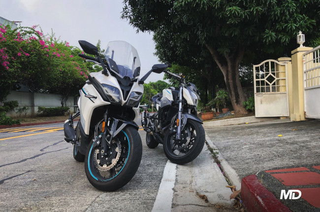 CFMoto GT 400 and 650 NK