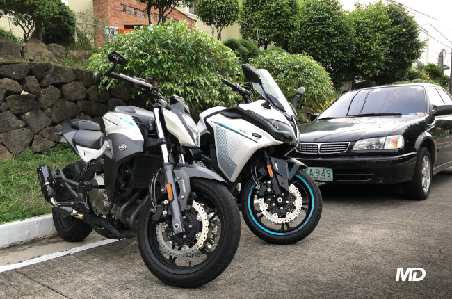 CFMoto GT400 and 650NK