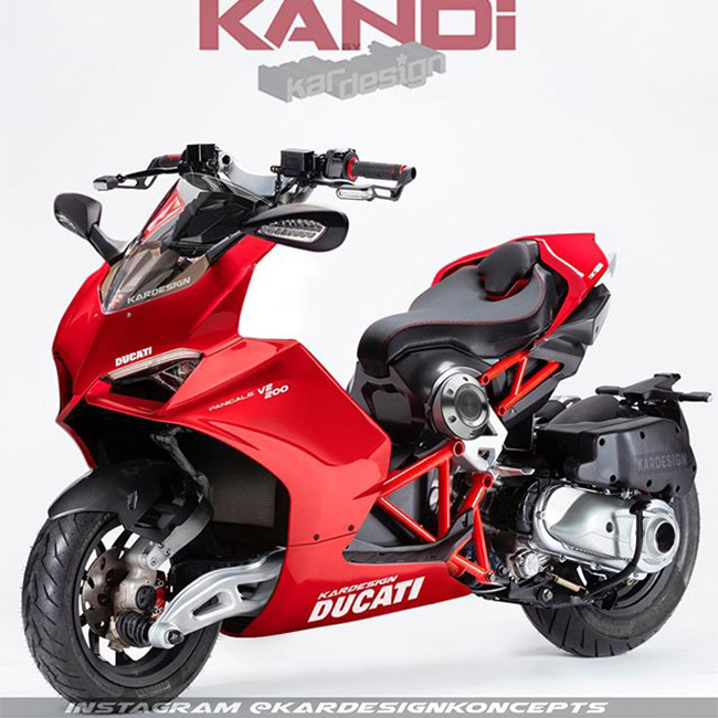Dragster x Panigale V2 concept