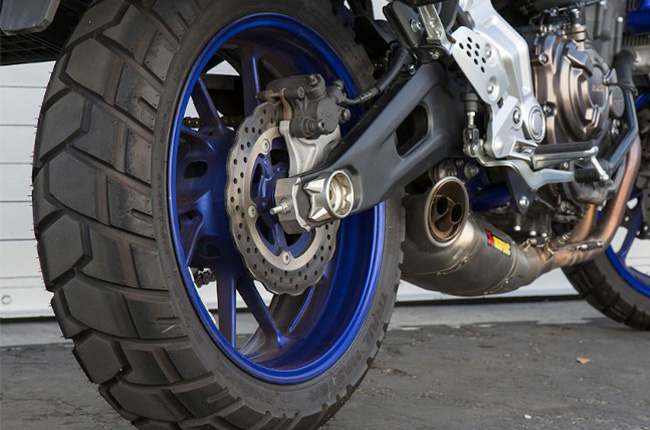 dual sport motorcycle tire