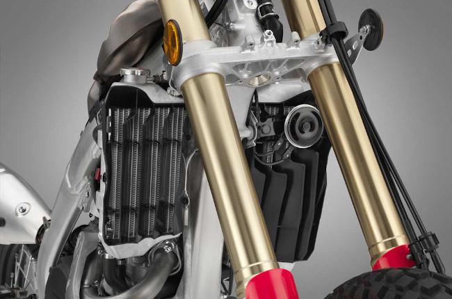 Dual-sport suspension