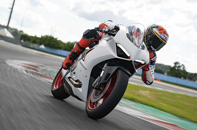 Ducati Panigale V2 White Rosso